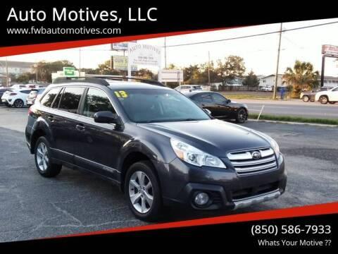 2013 Subaru Outback for sale at Auto Motives, LLC in Fort Walton Beach FL