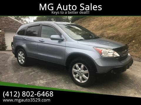 2009 Honda CR-V for sale at MG Auto Sales in Pittsburgh PA