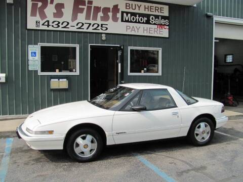 1990 Buick Reatta for sale at R's First Motor Sales Inc in Cambridge OH
