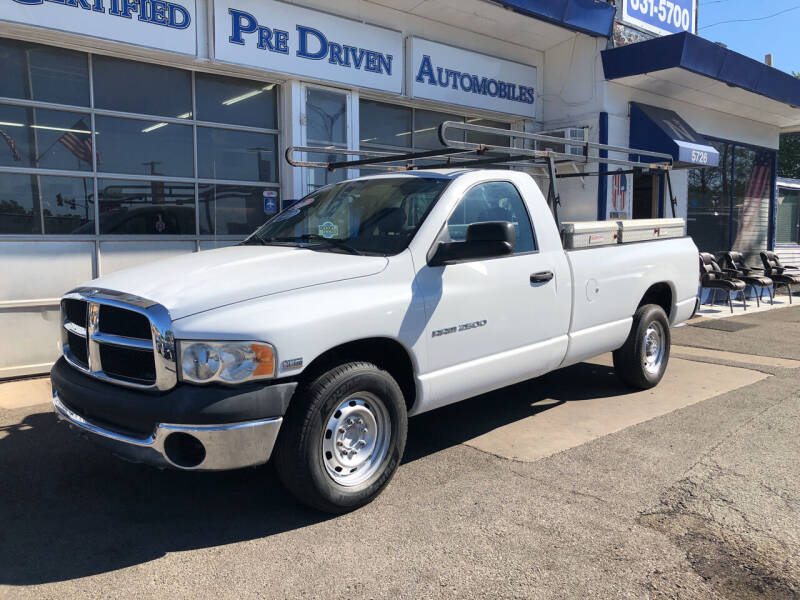 2004 Dodge Ram Pickup 2500 for sale at Jack E. Stewart's Northwest Auto Sales, Inc. in Chicago IL