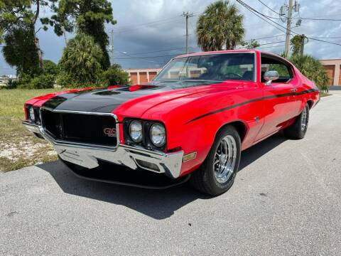 1970 Buick Gran Sport for sale at American Classics Autotrader LLC in Pompano Beach FL