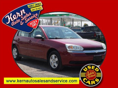 2005 Chevrolet Malibu for sale at Kern Auto Sales & Service LLC in Chelsea MI
