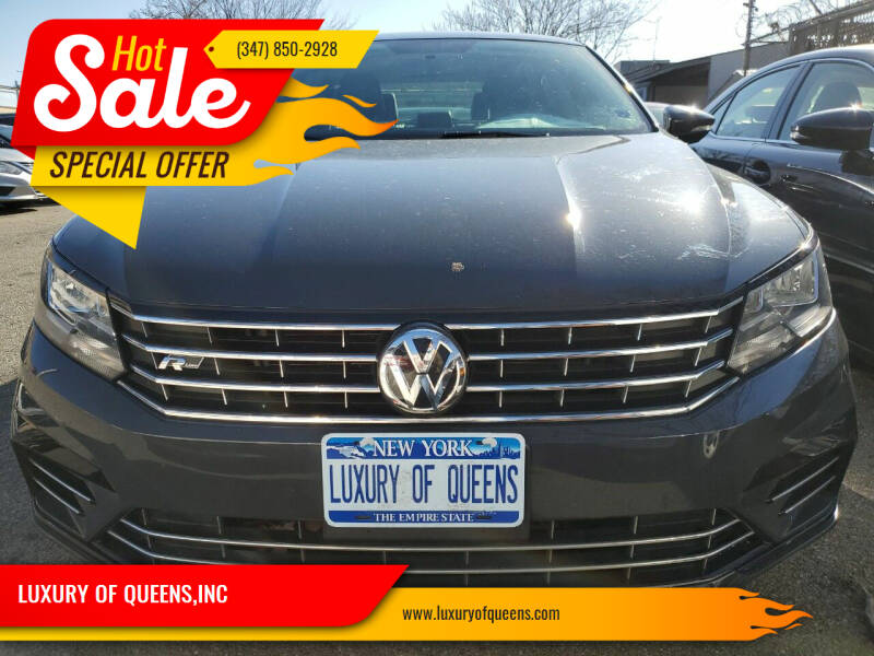 2017 Volkswagen Passat for sale at LUXURY OF QUEENS,INC in Long Island City NY