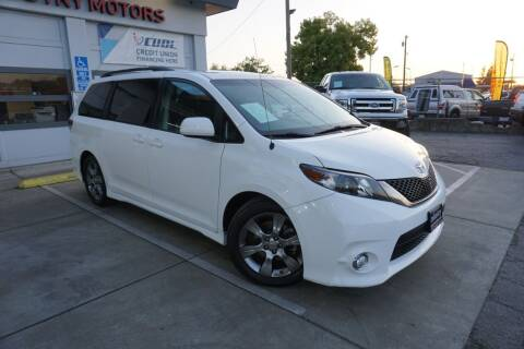 2012 Toyota Sienna for sale at Industry Motors in Sacramento CA