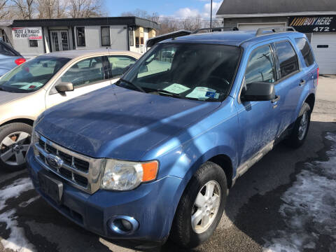 2009 Ford Escape for sale at RACEN AUTO SALES LLC in Buckhannon WV