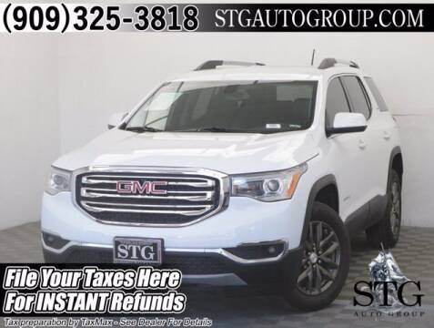 2019 GMC Acadia for sale at STG Auto Group in Montclair CA