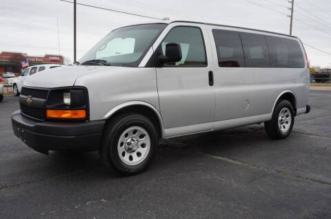 2012 Chevrolet Express Passenger for sale at Certified Auto Center in Tulsa OK