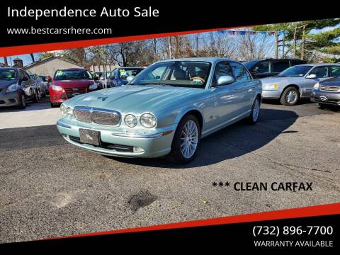 2006 Jaguar XJ-Series for sale at Independence Auto Sale in Bordentown NJ