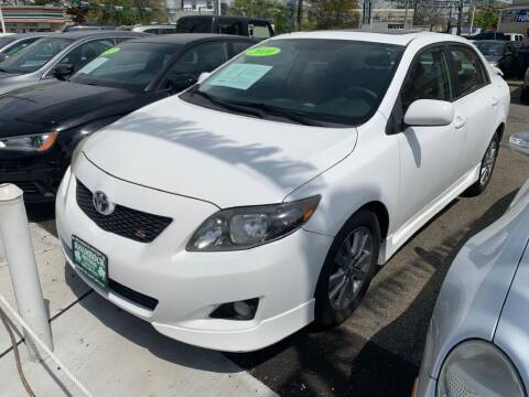 2010 Toyota Corolla for sale at Park Avenue Auto Lot Inc in Linden NJ