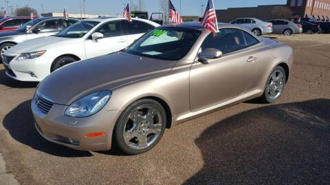 2002 Lexus SC 430 for sale at The Auto Toy Store in Robinsonville MS