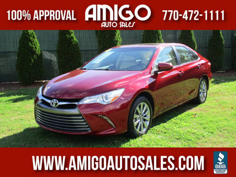 2017 Toyota Camry for sale at Amigo Auto Sales in Marietta GA