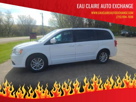 2016 Dodge Grand Caravan for sale at Eau Claire Auto Exchange in Elk Mound WI