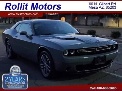 2019 Dodge Challenger for sale at Rollit Motors in Mesa AZ
