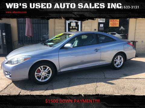 2008 Toyota Camry Solara for sale at WB'S USED AUTO SALES INC in Houston TX
