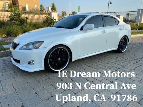 2006 Lexus IS 350 for sale at IE Dream Motors-Upland in Upland CA