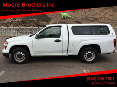 2011 Chevrolet Colorado for sale at Moore Brothers Inc in Portland CT