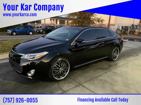 2014 Toyota Avalon for sale at Your Kar Company in Norfolk VA