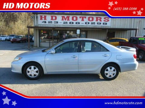 2005 Toyota Camry for sale at HD MOTORS in Kingsport TN