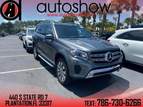 2018 Mercedes-Benz GLS for sale at AUTOSHOW SALES & SERVICE in Plantation FL