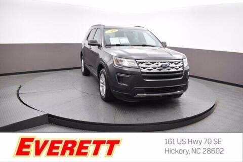 2018 Ford Explorer for sale at Everett Chevrolet Buick GMC in Hickory NC