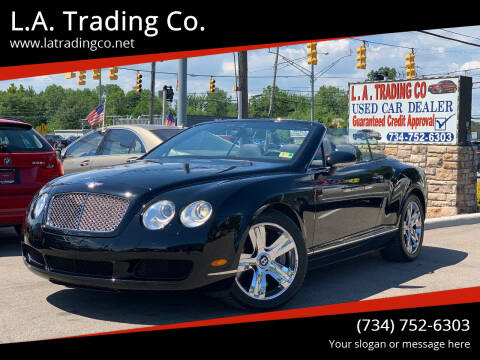 2009 Bentley Continental for sale at L.A. Trading Co. in Woodhaven MI