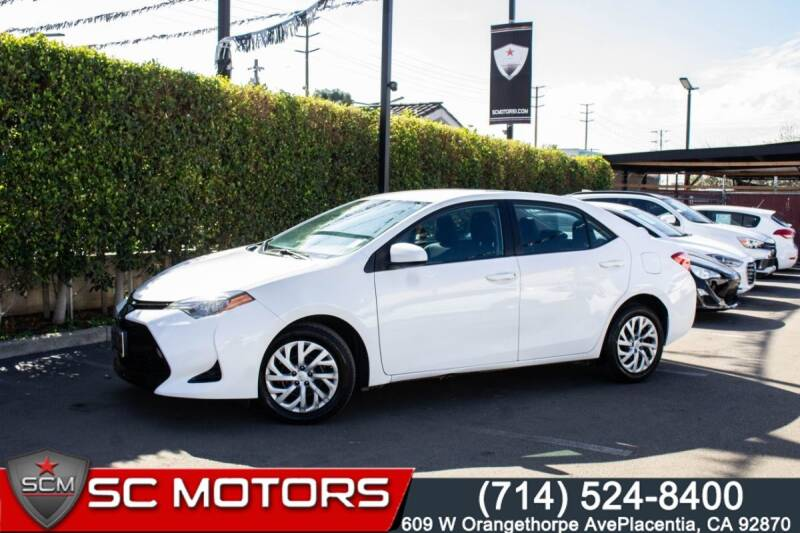 2017 Toyota Corolla for sale in Placentia, CA