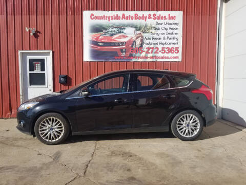 2012 Ford Focus for sale at Countryside Auto Body & Sales, Inc in Gary SD