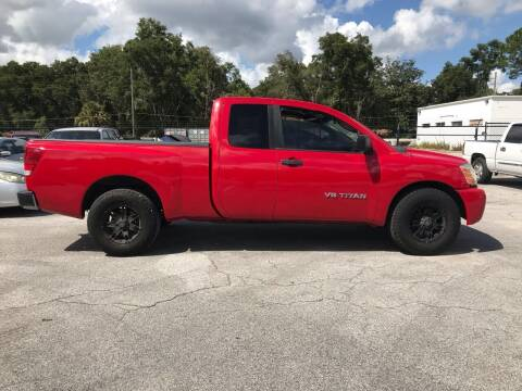 2005 Nissan Titan for sale at Popular Imports Auto Sales in Gainesville FL