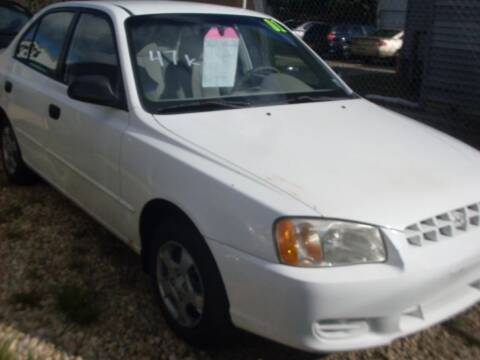 2001 Hyundai Accent for sale at Flag Motors in Islip Terrace NY