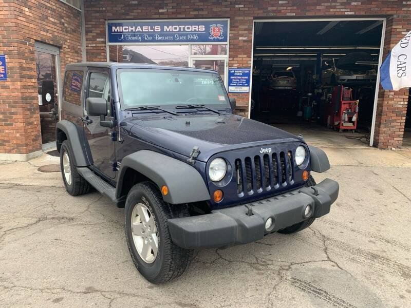 2013 Jeep Wrangler for sale at Michaels Motor Sales INC in Lawrence MA