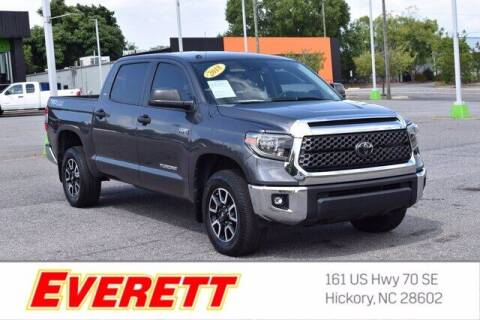 2018 Toyota Tundra for sale at Everett Chevrolet Buick GMC in Hickory NC