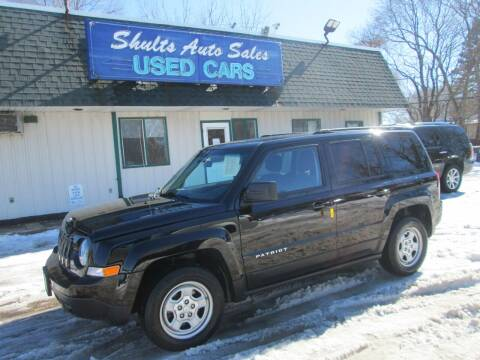 2012 Jeep Patriot for sale at SHULTS AUTO SALES INC. in Crystal Lake IL