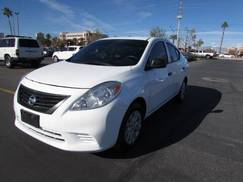 2014 Nissan Versa for sale at Charlie Cheap Car in Las Vegas NV