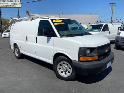 2014 Chevrolet Express Cargo for sale at Auto Wholesale Company in Santa Ana CA