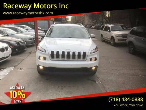 2014 Jeep Cherokee for sale at Raceway Motors Inc in Brooklyn NY