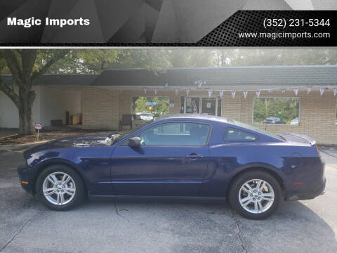 2012 Ford Mustang for sale at Magic Imports in Melrose FL