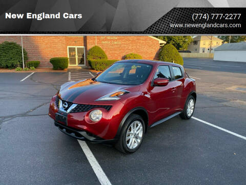 2015 Nissan JUKE for sale at New England Cars in Attleboro MA