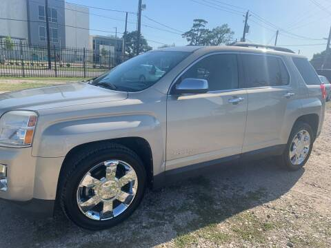 2011 GMC Terrain for sale at FAIR DEAL AUTO SALES INC in Houston TX