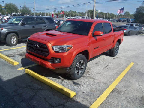 2016 Toyota Tacoma for sale at ORANGE PARK AUTO in Jacksonville FL