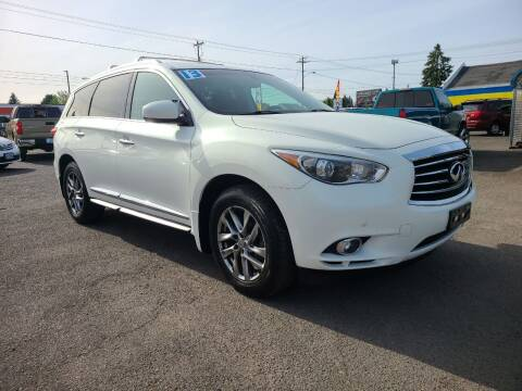 2013 Infiniti JX35 for sale at Universal Auto Sales in Salem OR