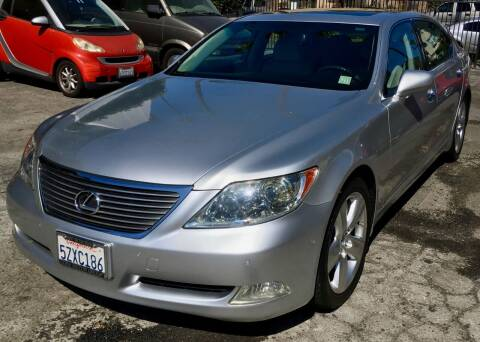 2007 Lexus LS 460 for sale at Eden Motor Group in Los Angeles CA
