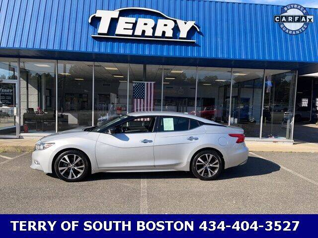2017 Nissan Maxima for sale at Terry of South Boston in South Boston VA