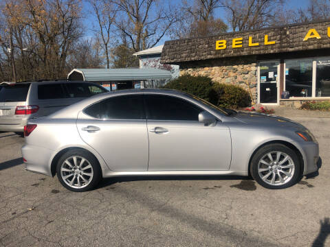 2006 Lexus IS 250 for sale at BELL AUTO & TRUCK SALES in Fort Wayne IN