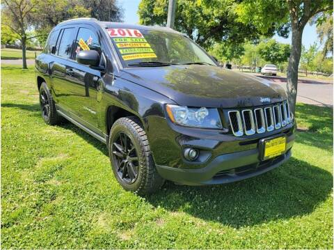 2016 Jeep Compass for sale at D & I Auto Sales in Modesto CA