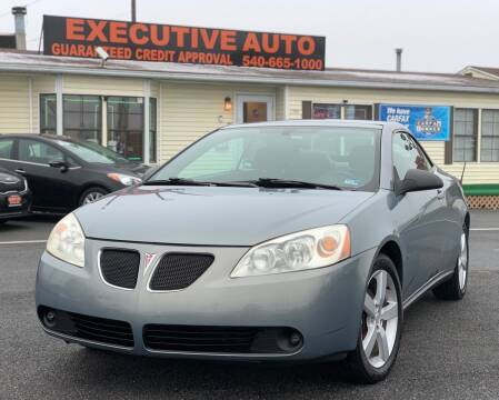 2007 Pontiac G6 for sale at Executive Auto in Winchester VA