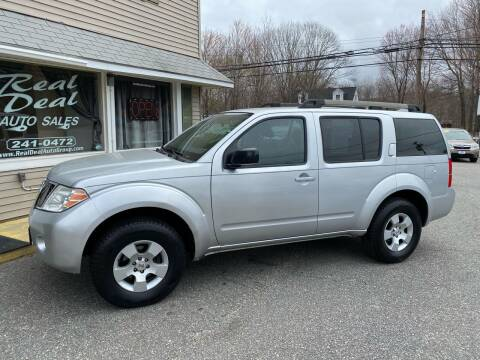 2012 Nissan Pathfinder for sale at Real Deal Auto Sales in Auburn ME