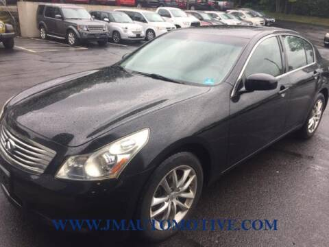 2007 Infiniti G35 for sale at J & M Automotive in Naugatuck CT