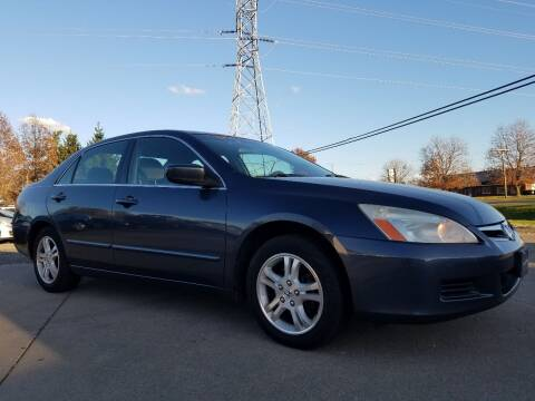 2007 Honda Accord for sale at CarNation Auto Group in Alliance OH