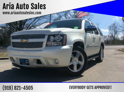 2010 Chevrolet Tahoe for sale at ARIA  AUTO  SALES in Raleigh NC