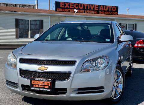 2012 Chevrolet Malibu for sale at Executive Auto in Winchester VA
